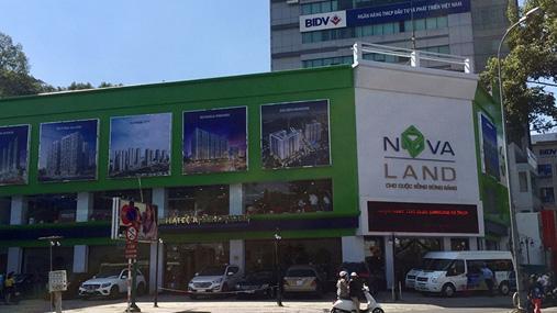 Novaland đã phải đóng cửa hoạt động Sàn Giao dịch Novaland chi nhánh Nguyễn Thị Minh Khai được khai trương từ cuối năm 2017.