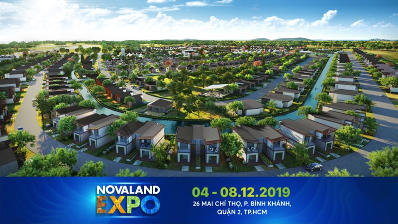 Novaland Expo là triển lãm bất động sản có quy mô lớn dịp cuối năm nay.