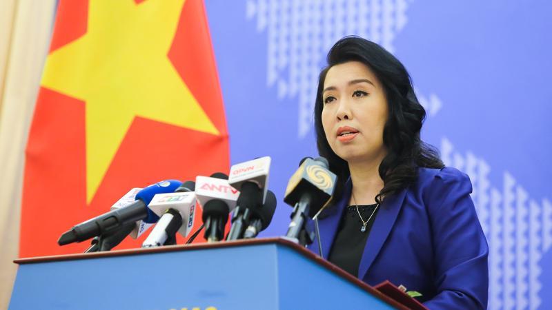 Người Phát ngôn Bộ Ngoại giao Việt Nam, bà Lê Thị Thu Hằng.