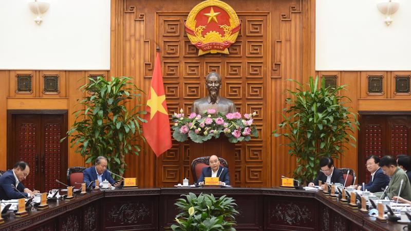 Cuộc họp Thường trực Chính phủ chiều 15/3 - Ảnh: VGP