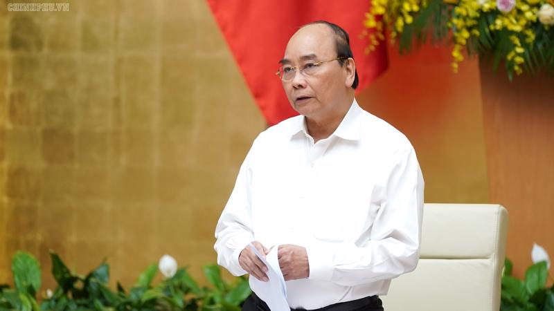 Thủ tướng Nguyễn Xuân Phúc cũng lưu ý việc điều chỉnh tỷ giá, chính sách tiền tệ phải hết sức thận trọng.