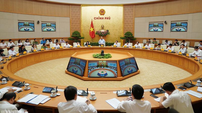 Thủ tướng Nguyễn Xuân Phúc chủ trì cuộc họp Hội đồng Thi đua - Khen thưởng Trung ương.