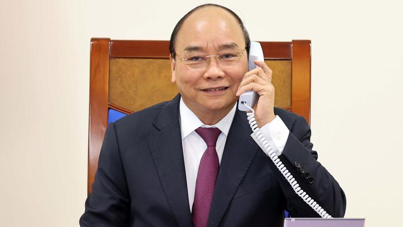 Thủ tướng Nguyễn Xuân Phúc đánh giá cao kết quả chuyến thăm Việt Nam của Thủ tướng Scott Morrison năm 2019, mời Thủ tướng Scott Morrison và Phu nhân thăm lại Việt Nam.
