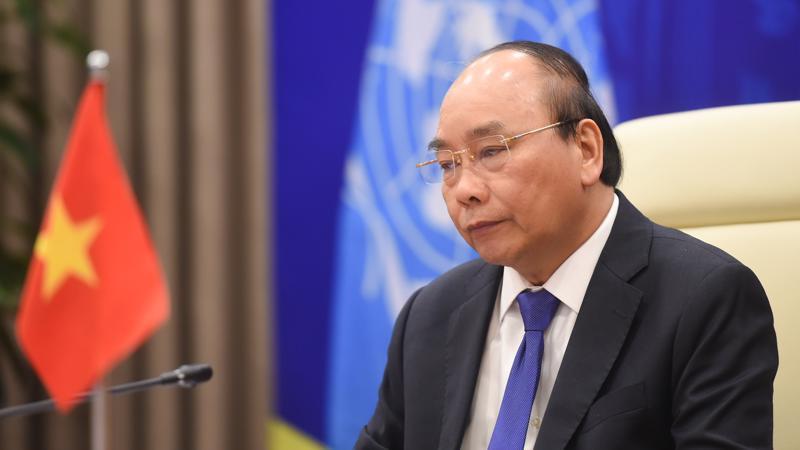 Thủ tướng Nguyễn Xuân Phúc phát biểu tại sự kiện - Ảnh: VGP