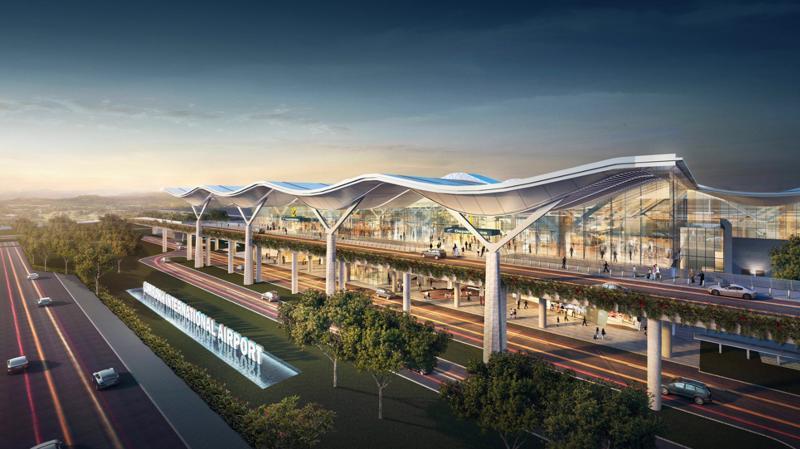 Nhà ga hành khách quốc tế sẽ gia tăng lượng khách quốc tế từ 1,5 triệu lượt lên 8 triệu lượt đến Nha Trang vào năm 2030.