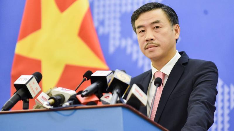 Phó phát ngôn Bộ Ngoại giao Dương Hoài Nam - Ảnh: Báo Quốc tế.