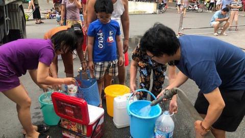 Việc ô nhiễm nguồn nước ảnh hưởng đến người dân khu vực Tây Nam Hà Nội