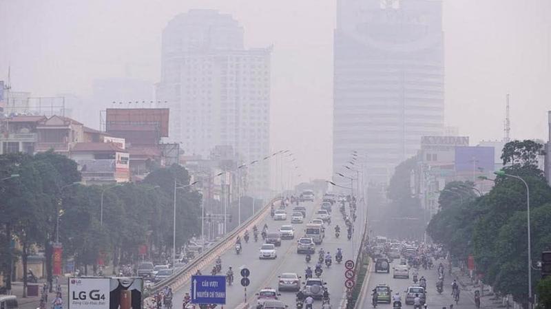 Năm 2019, Hà Nội trải qua nhiều đợt ô nhiễm không khí. Ảnh minh họa.