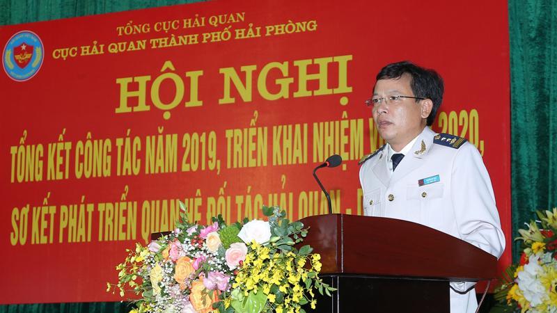 Ông Nguyễn Duy Ngọc, Cục trưởng Cục hải quan Hải Phòng