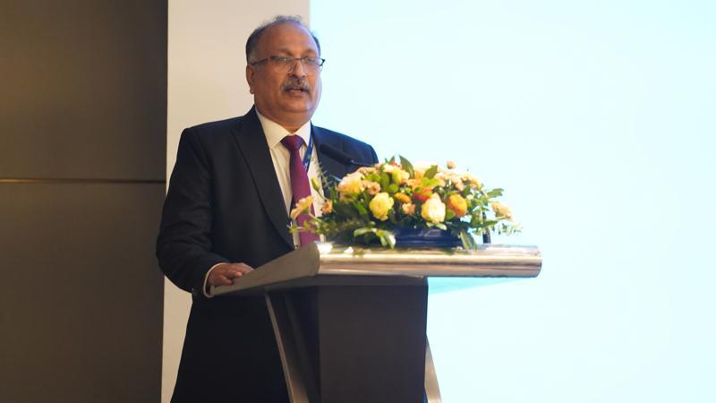 Ông Sanjay Gupta - Phó Chủ tịch Tập đoàn HCL Technologies chia sẻ tại sự kiện.