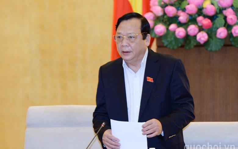 Phó chủ tịch Quốc hội Huỳnh Ngọc Sơn vừa được đề nghị miễn nhiệm.