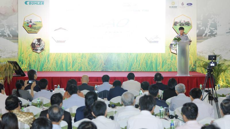 Hội thảo lúa gạo thường niên do Thời báo Kinh tế Việt Nam tổ chức diễn ra vào ngày 19/9, tại Tp.Cần Thơ.