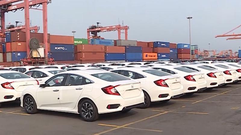 Trái ngược với sự áp đảo của xe Thái Lan, trong tuần vừa qua không có bất kỳ chiếc xe du lịch nào được nhập khẩu từ Trung Quốc.