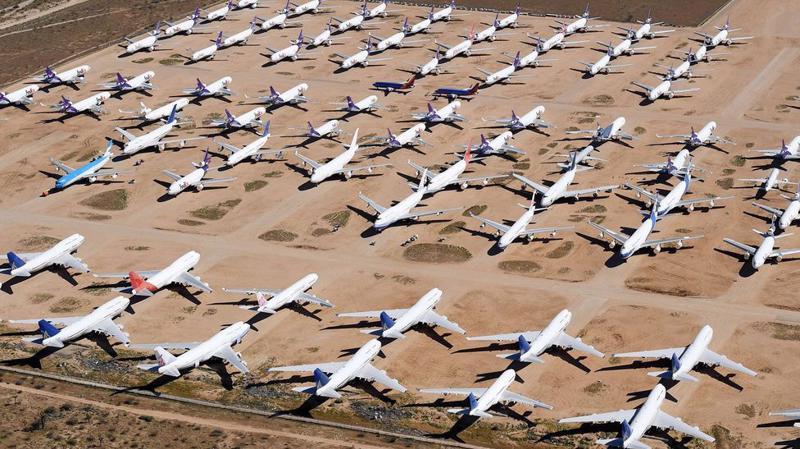 Ngành hàng không toàn cầu chạm đáy vì đại dịch Covid-19 - Ảnh: Getty Images