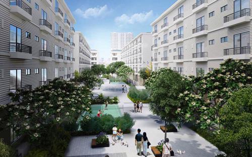 Dự án Pandora được quy hoạch trở thành một khu compound (phức hợp biệt lập) với các căn nhà vườn nổi bật mang phong cách châu Âu.