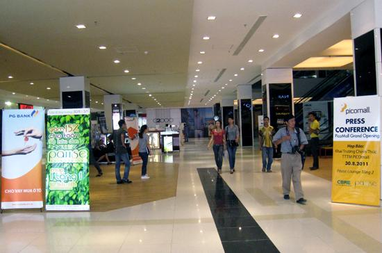 Pico Mall sẽ được khai trương chính thức vào ngày 1/9.