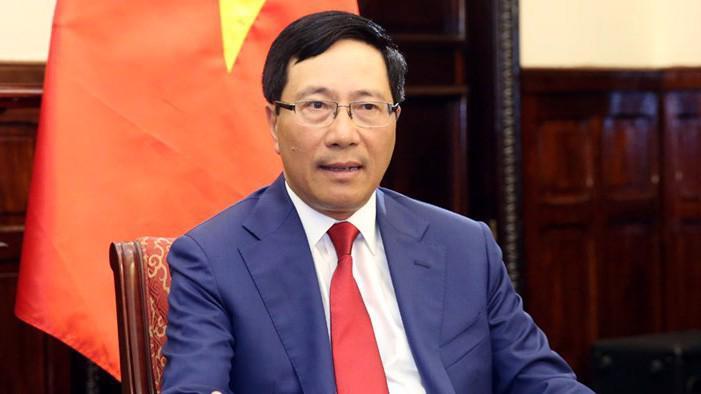 Phó thủ tướng - Bộ trưởng Ngoại giao Phạm Bình Minh.