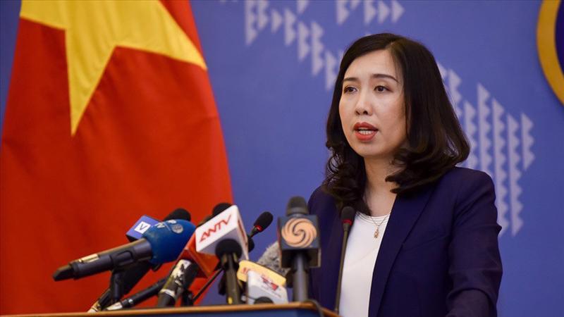Người phát ngôn Bộ Ngoại giao Lê Thị Thu Hằng cho rằng: Việt Nam đã có nhiều nỗ lực cải thiện cán cân thương mại giữa hai nước, thúc đẩy nhập khẩu các mặt hàng Hoa Kỳ có thế mạnh và Việt Nam có nhu cầu.