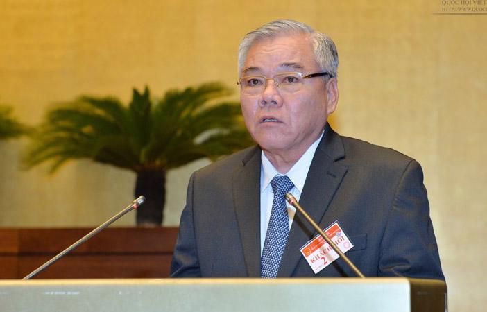 Tổng Thanh tra Chính phủ Phan Văn Sáu.