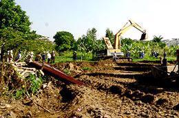 Tranh chấp về quyền sử dụng đất (không tính tranh chấp về tài sản gắn liền với đất) trong năm 2009 đã có 20.080 vụ.