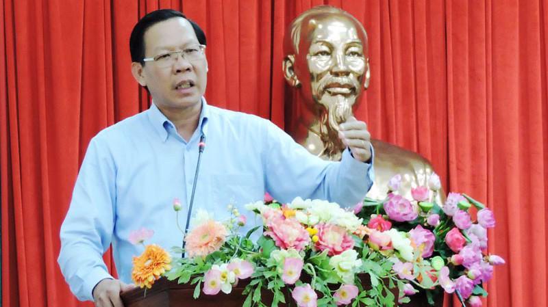 Ông Phan Văn Mãi, tân Bí thư Tỉnh ủy Bến Tre