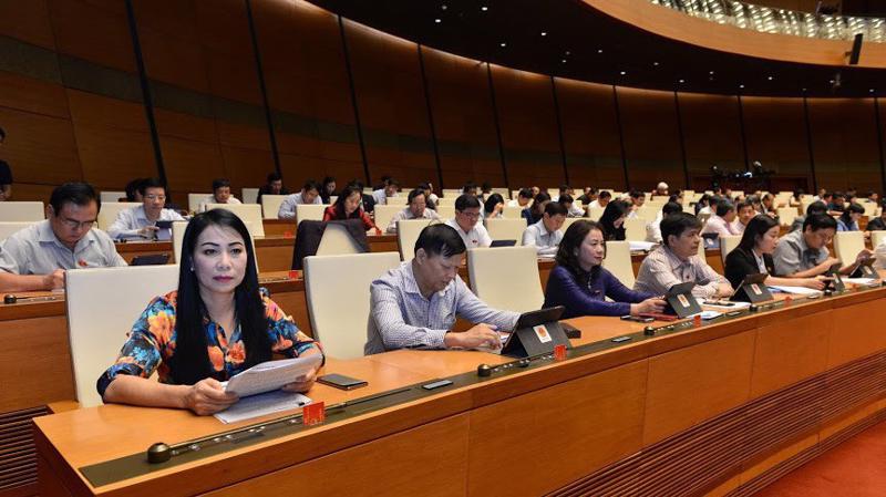 Một phiên họp toàn thể của Quốc hội - Ảnh: Quang Phúc