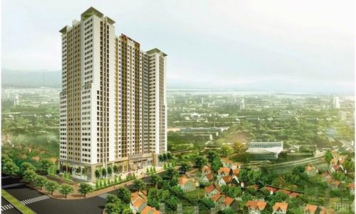 Phối cảnh tổng thể dự án Parkview Hoàng Mai.