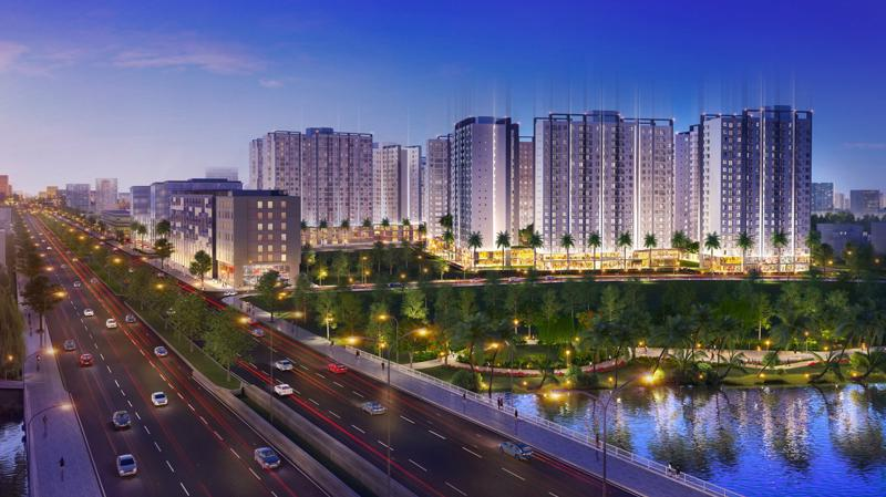 Phối cảnh dự án Akari City.