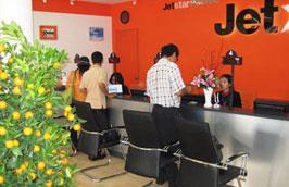 Ngoài thanh toán tại các phòng vé, khách hàng của Jetstar Pacific có thể thanh toán qua các ngân hàng mà hãng này đã liên kết.