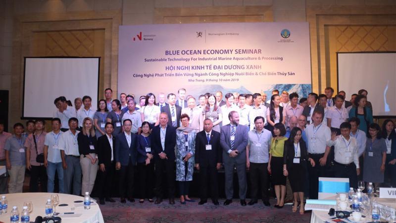 Hội nghị về Kinh tế Đại dương xanh ngày 9/10.