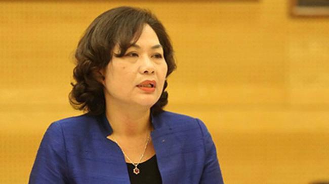 Phó thống đốc Nguyễn Thị Hồng.