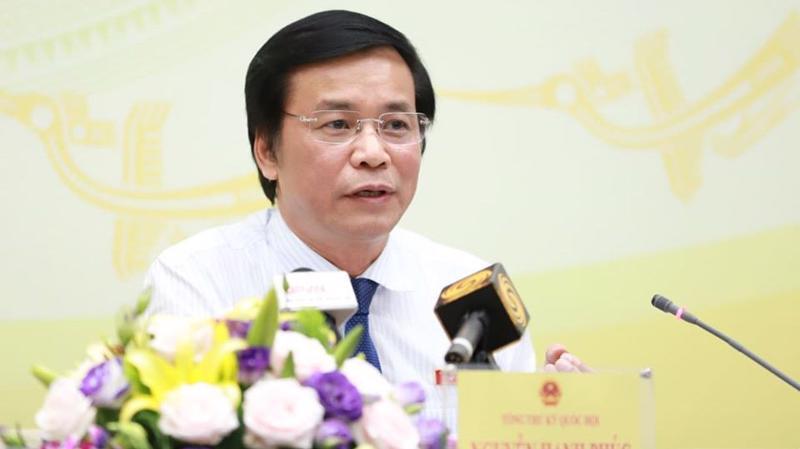 Tổng thư ký Quốc hội Nguyễn Hạnh Phúc - Ảnh: Quang Phúc.