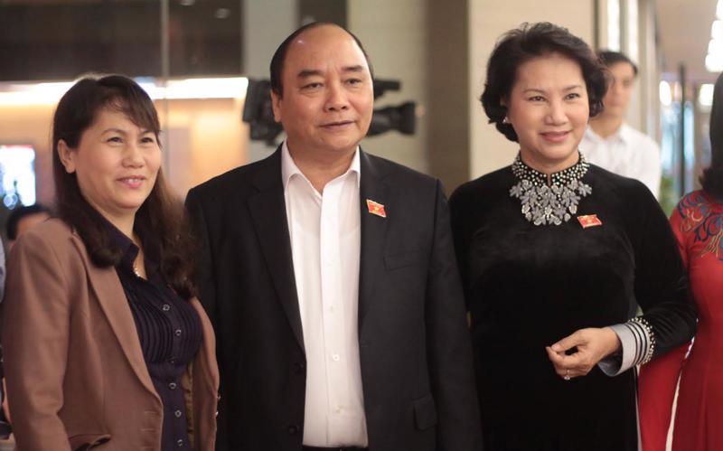 <div>Thủ tướng Nguyễn Xuân Phúc đã trở thành Phó chủ tịch và Chủ tịch Quốc hội Nguyễn Thị Kim Ngân là uỷ viên Hội đồng Quốc phòng - An ninh.</div>