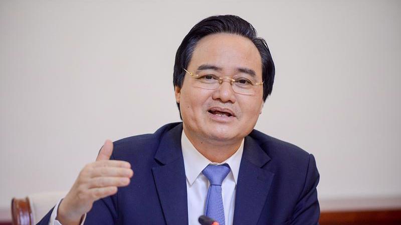 Bộ trưởng Bộ Giáo dục và Đào tạo Phùng Xuân Nhạ. Ảnh: Internet