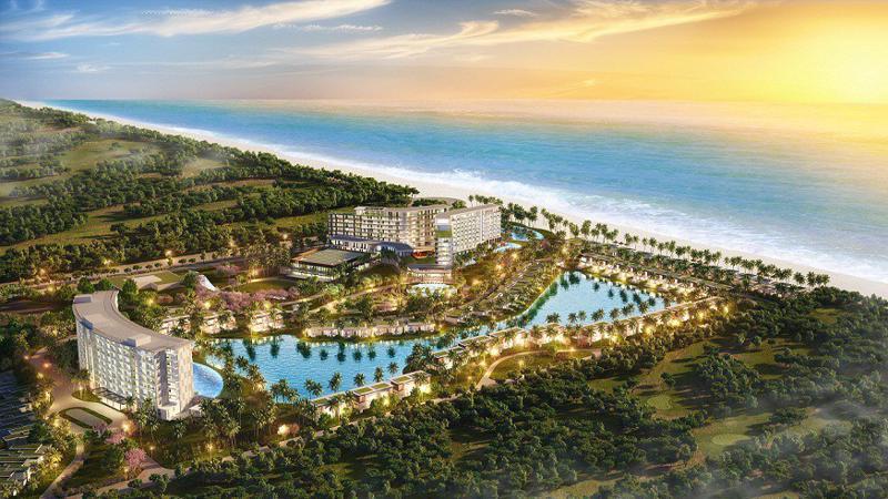 Phối cảnh dư án Mövenpick Resort Waverly Phú Quốc - Một trong những dự án đang được giới đầu tư quan tâm.