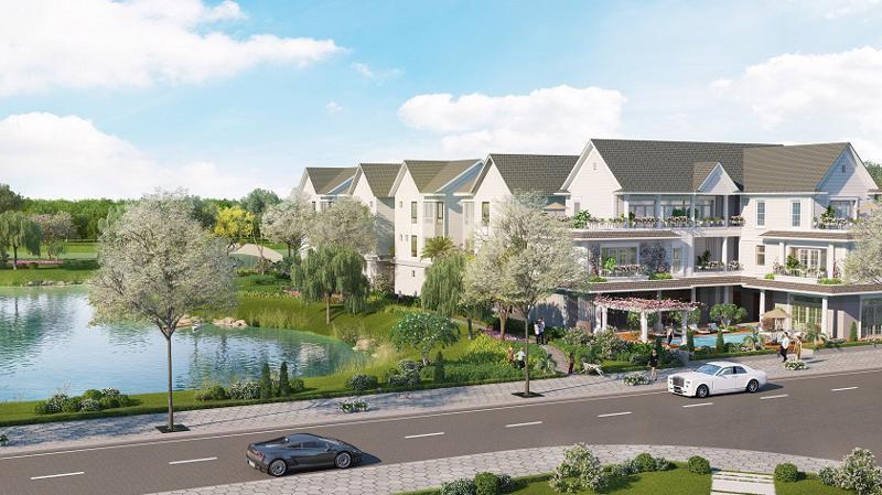 Park Riverside Premium là dự án có mật độ xây dựng thấp, ưu tiên diện tích để xây dựng đường giao thông nội bộ, công viên cây xanh, và các công trình công cộng.