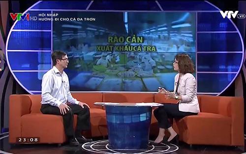 """Chương trình """"Hội nhập"""" phát sóng vào khung giờ 22h45 - 23h15 trên kênh VTV1 Đài Truyền hình Việt Nam."""