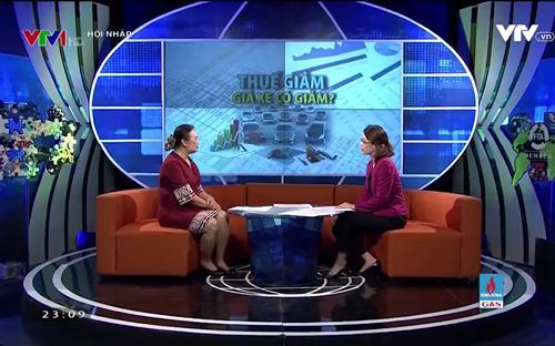 Chương trình Hội nhập trên VTV1 Đài Truyền hình Việt Nam.