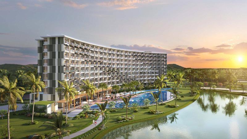 Condotel Mövenpick Resort Waverly Phú Quốc sở hữu lối kiến trúc mang phong cách Thụy Sỹ hiện đại, sang trọng với 329 căn được thiết kế từ 1 – 2,5 phòng ngủ.