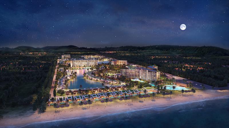 Khu nghỉ dưỡng Mövenpick Resort Waverly Phú Quốc tại bãi Ông Lang đang được thị trường đón chờ ngày ra mắt.