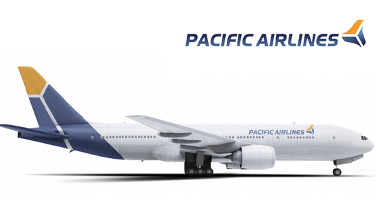 Diện mạo mới của Pacifics Airlines khi về chung một nhà với Vietnam Airlines.