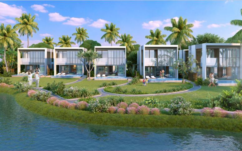 Bao trọn 1,3 km bãi biển Bình Minh tại Nam Hội An, Vinpearl Nam Hội An Resort & Villas gồm hai phân khu chính.