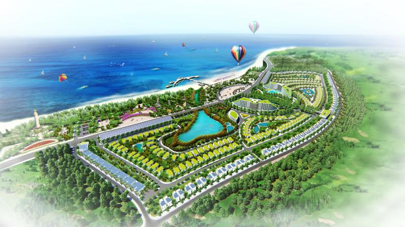 Phối cảnh dự án AE Cửa Tùng Resort - Quảng Trị (nguồn: www.aecorporation.vn)