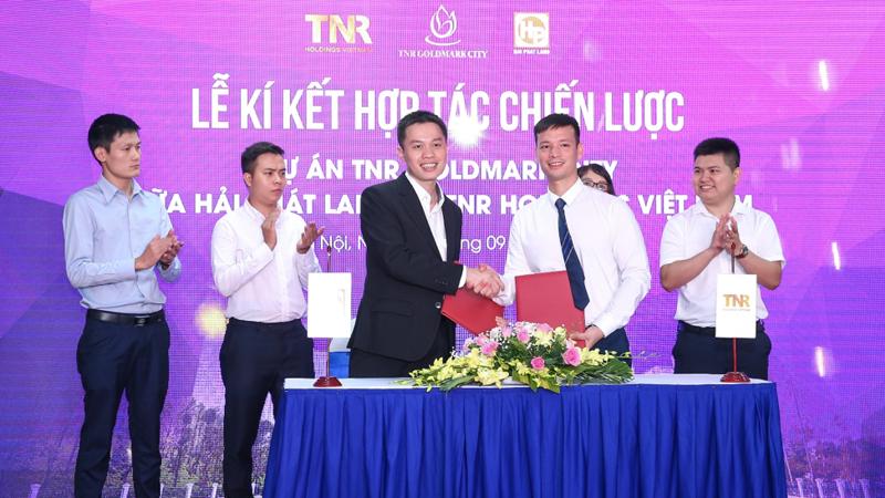 TNR Holdings và Hải Phát Land hợp tác chiến lược dự án TNR Goldmark City.