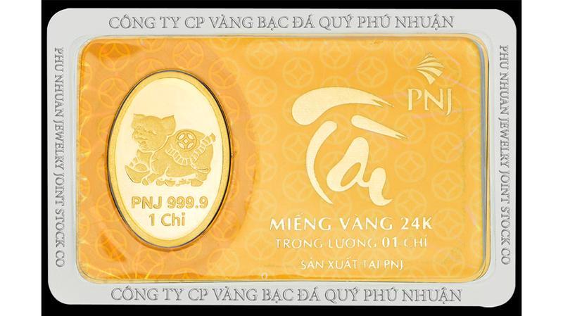 Vàng miếng PNJ.