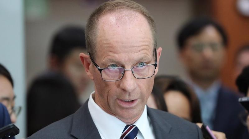 Trợ lý Ngoại trưởng về các vấn đề Đông Á và Thái Bình Dương David R. Stilwell - Ảnh: YNA.