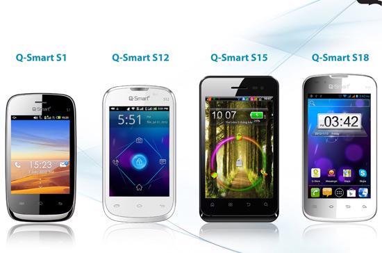 Các sản phẩm Q-smart của Công ty TNHH Viễn Thông An Bình.