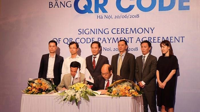 UnionPay và VNPAY ký kết hợp tác thanh toán bằng QR CODE.