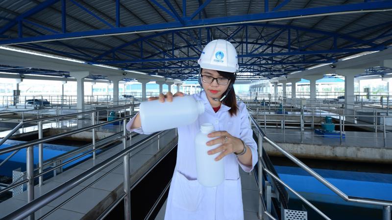 Nhà máy nước sạch cung cấp cho 1/3 dân số Hà Nội vừa mới đi vào vận hành 5/9