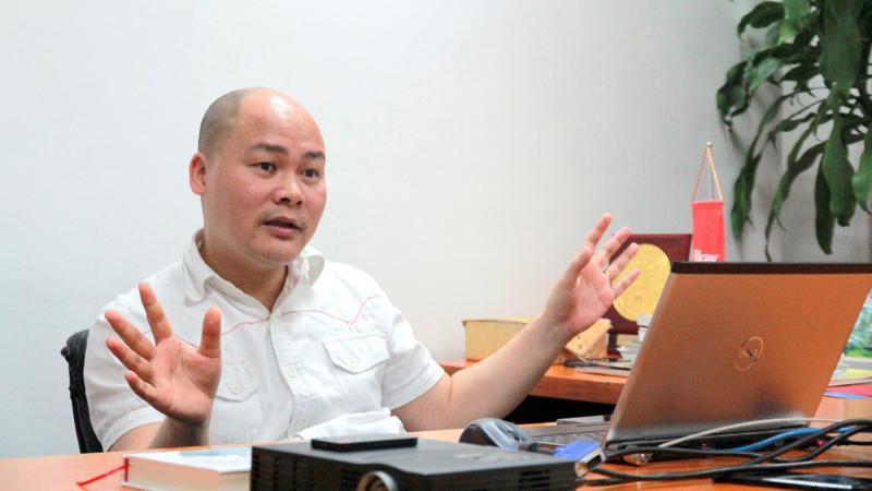 Chủ tịch Bkav Nguyễn Tử Quảng: Nếu làm thương mại thì chỉ một hai năm là bỏ cuộc ngay.